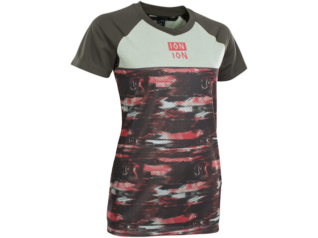 ION Scrub AMP Distortion Maillot à manches courtes Femme, root brown